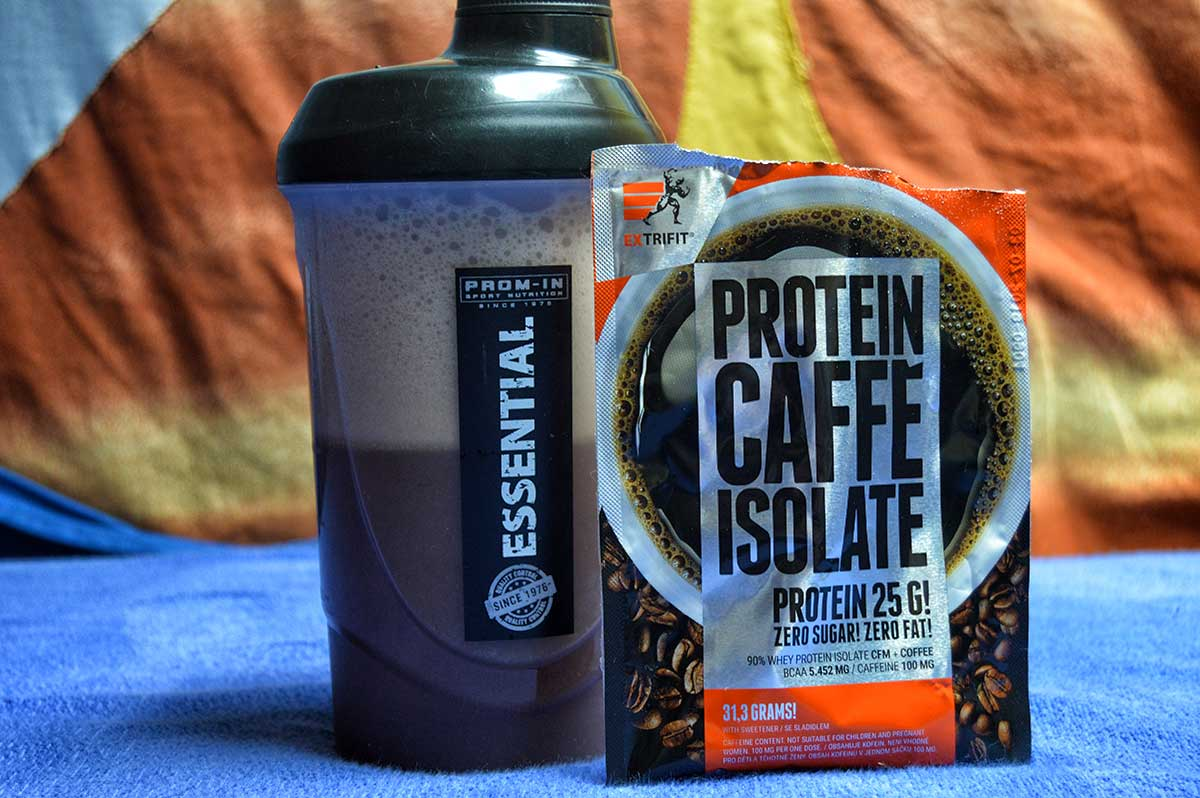 Rozpustnost - Extrifit Protein Caffé Isolate