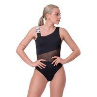 Dámské jednodílné plavky  One Shoulder Sporty 559  Black  S