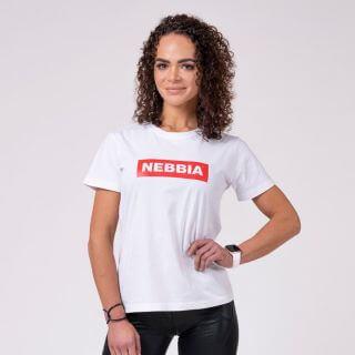 Dámské tričko Basic White XS - NEBBIA