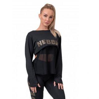 Dámské tričko Nebbia Intense Mesh 805  Black  XS