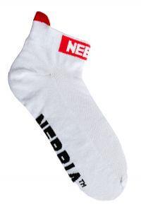 Kotníkové ponožky NEBBIA Smash It 102 (černá, bílá) Barva: Bílá, Velikost: 35-38