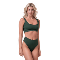 Miami Sporty Bikini vrchní díl green S - NEBBIA