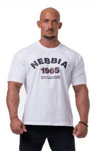 NEBBIA Golden Era Tričko 192 White Barva: Bílá, Velikost: M