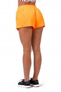 NEBBIA Neon Energy boxerské šortky 519 Barva: Orange, Velikost: S