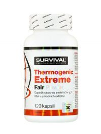 Survival Thermogenic Extreme Fair Power 120 kapslí
