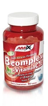 Amix B-Complex + vitamin C,E - 90 kapslí
