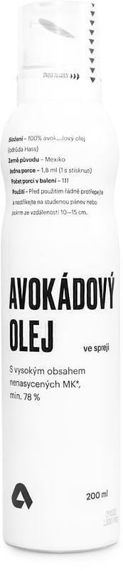 Aktin Avokádový olej ve spreji 200 ml