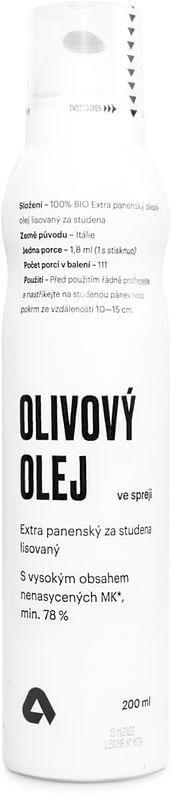 Aktin Extra panenský olivový olej ve spreji BIO 200 ml