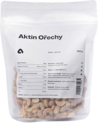 Aktin Kešu ořechy natural 500 g