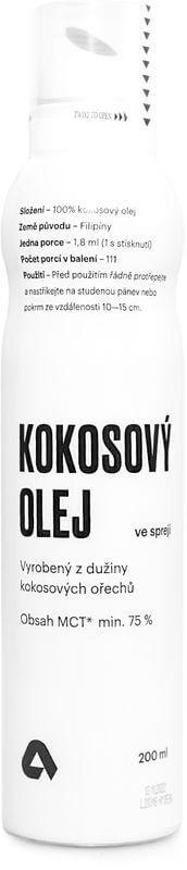 Aktin Kokosový olej ve spreji 200 ml