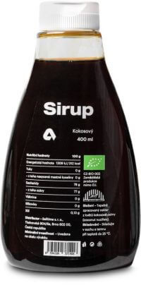 Aktin Kokosový sirup BIO 400 ml