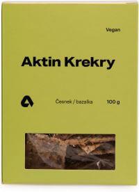 Krekry BIO česnek/bazalka 100 g