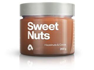 Aktin Sweet Nuts jemné lískové ořechy/kakao 200 g