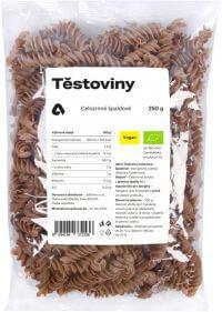 Těstoviny celozrnné špaldové BIO 250 g