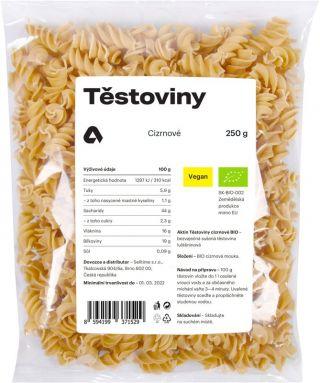 Aktin Těstoviny cizrnové BIO 250 g