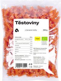 Těstoviny z červené čočky BIO 250 g