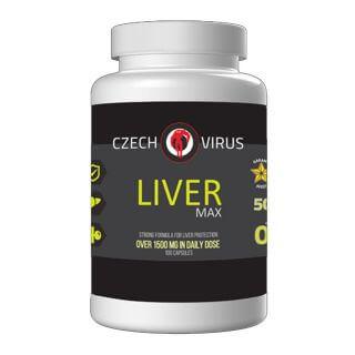 Czech Virus Liver Max 100 cps.