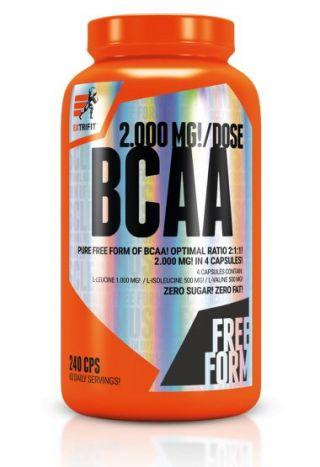 BCAA 2000 mg Optimal Ratio 2: 1: 1 - Extrifit 240 kaps.