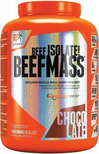 Extrifit BeefMass ® 1500g Vanilka-karamel