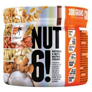 Extrifit Nut 6! 300 g natural