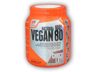 PROTEIN Extrifit Vegan 80 1000g  + šťavnatá tyčinka ZDARMA Varianta: čokoláda + DÁREK ZDARMA
