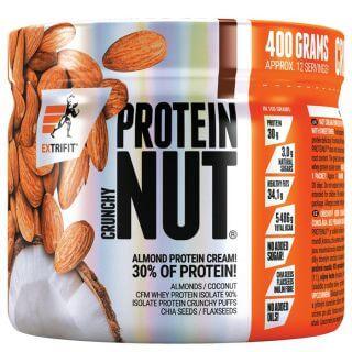 Nut Protein Crunchy - Extrifit 400 g Dvojitá čokoláda
