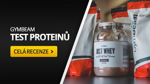 Recenze proteinů GymBeam: True Whey, Just Whey (Test)