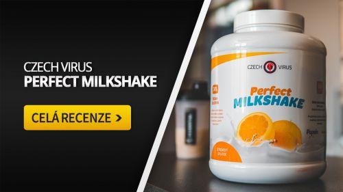 Czech Virus Perfect Milkshake [recenze]: Zlatý standard mezi proteiny?
