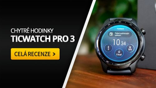 Ticwatch Pro 3 [recenze]: Nejlepší chytré hodinky?