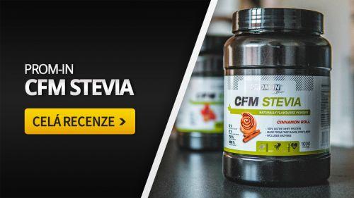 Prom-IN CFM Stevia [recenze]: Skvělý přírodní protein?