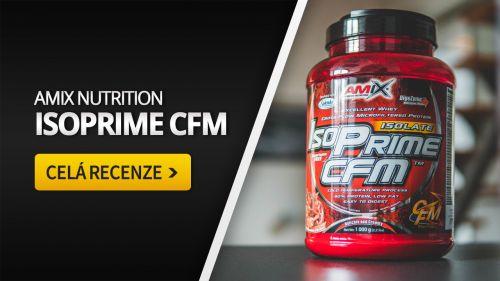 Amix Isoprime [recenze]: Nejlepší protein do diety?