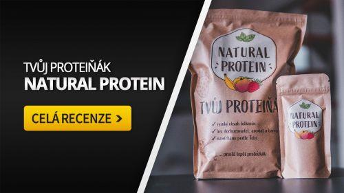 NaturalProtein [recenze]: Namíchej si vlastní protein