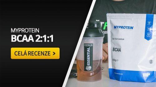 Myprotein BCAA [recenze]: Ty nejhorší aminokyseliny na trhu?